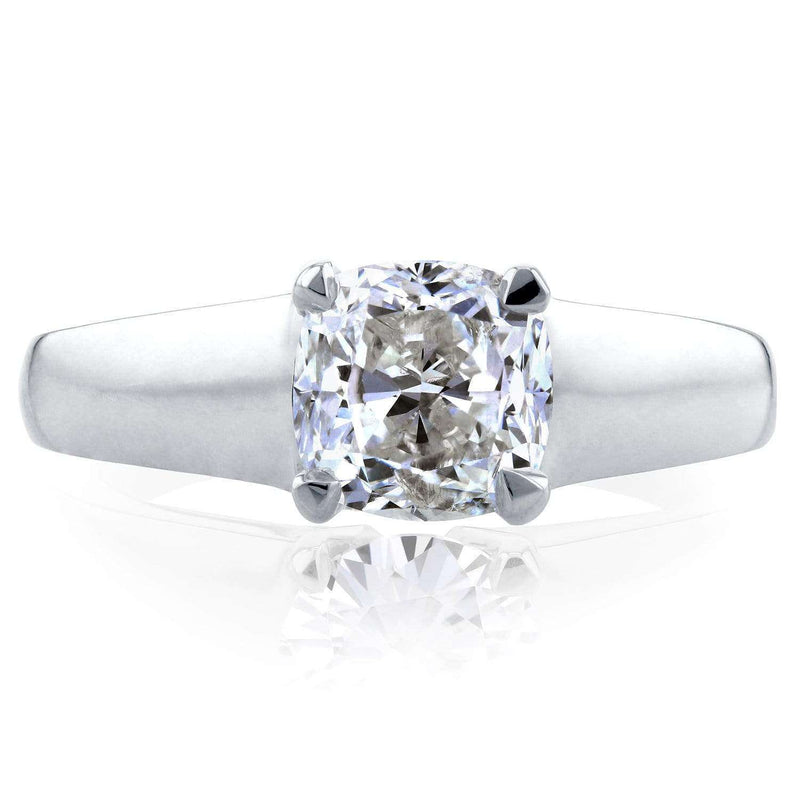 Kobelli Diamond Classic Solitaire Ring 1 Carat in 14k White Gold