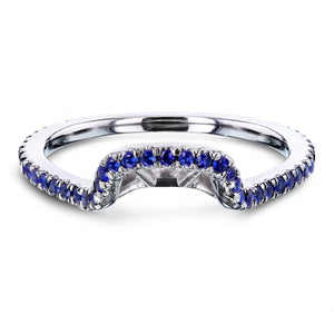 Blue Sapphire Shadow Band - 62150 Series
