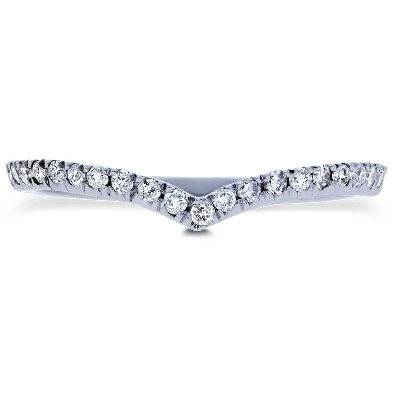 Kobelli Contured Diamond Band 1/6 CTW in 14k White Gold (Fits with 62178 & 62010 Series)