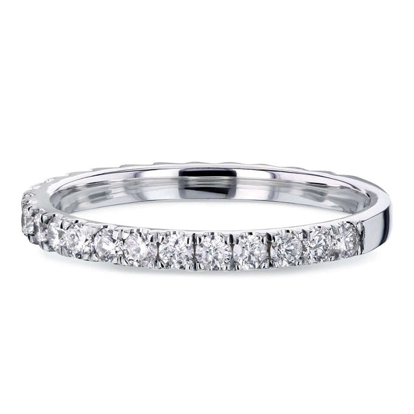 Kobelli Diamond 3-Quarter Eternity Wedding Band 14k 1/2 Carat 62485D/4.5W