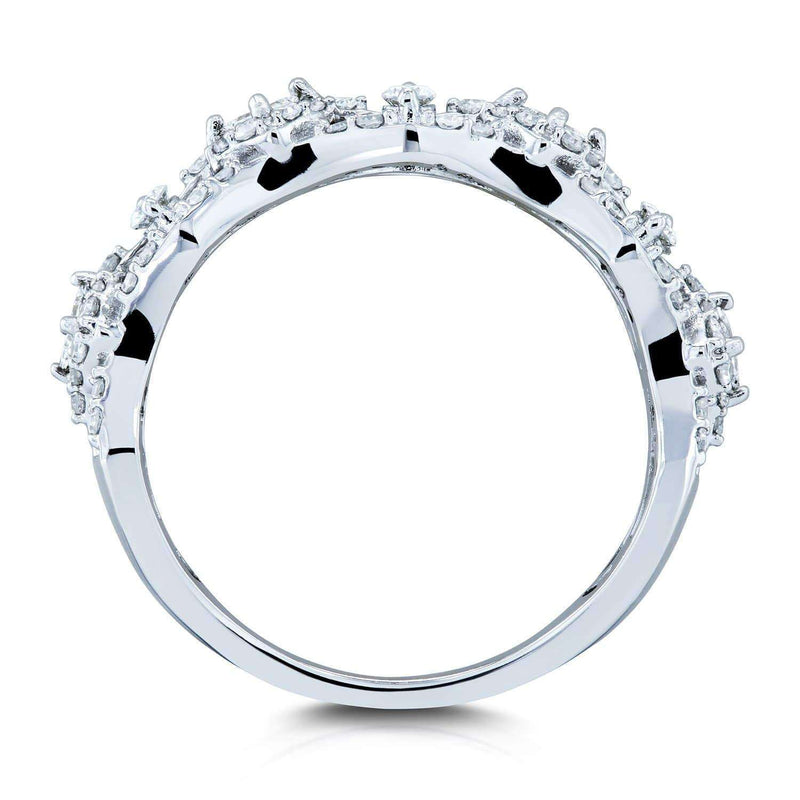 Kobelli Diamond Fashion Band 2/3 Carats (CTW) in 10k White Gold