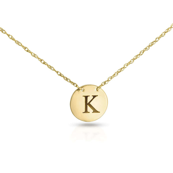 Kobelli Monogram Initial Necklace
