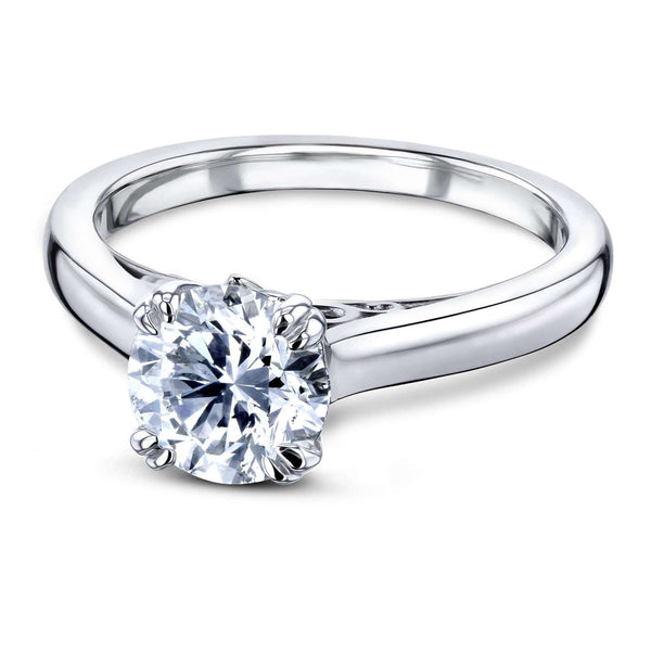 Kobelli 1ct Diamond Solitaire W-Prong Ring 62642R-1E/4.5W