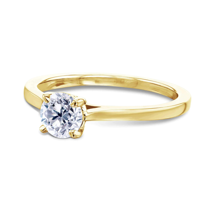 Kobelli 1/2ct Round Diamond Solitaire Ring 62733R-50E/4Y