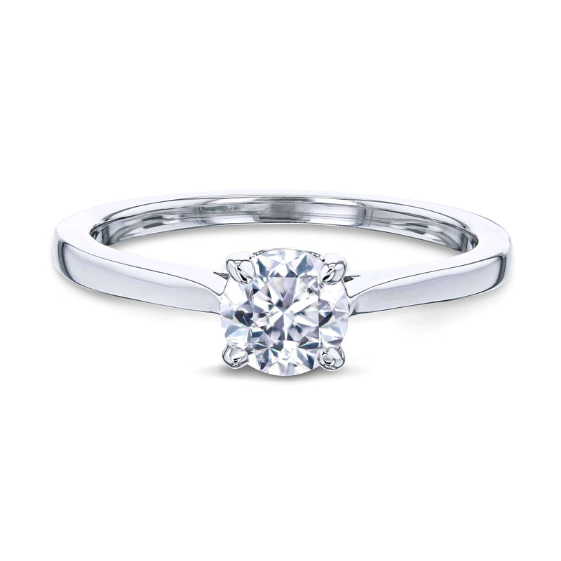 Kobelli 1/2ct Round Diamond Solitaire Ring