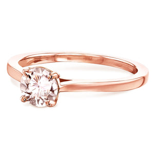 Kobelli 5mm Morganite Ring 62733RMR-50E/4R