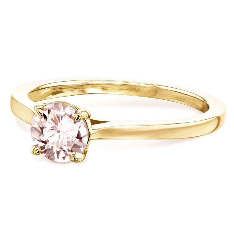 Kobelli 5mm Morganite Ring 62733RMR-50E/4Y