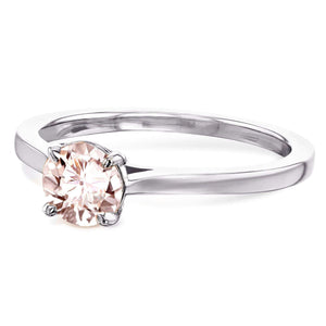 Kobelli 5mm Morganite Ring 62733RMR-50E/4W