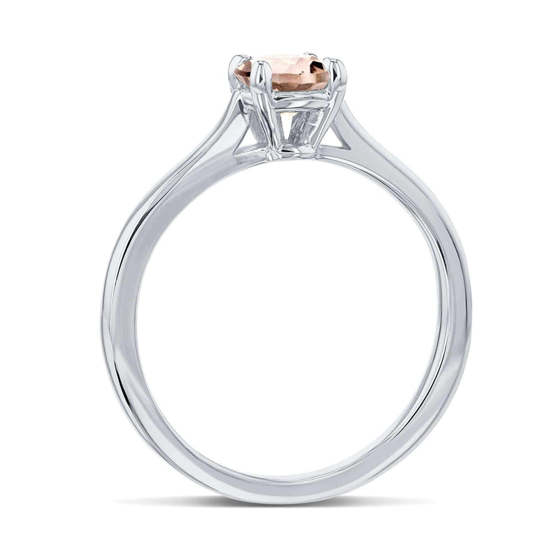 Kobelli 5mm Morganite Ring