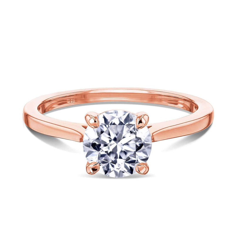 Kobelli 1ct Round Diamond Solitaire Ring