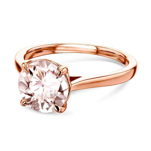 Kobelli 8mm Morganite Ring 62735RMR-2E/4R