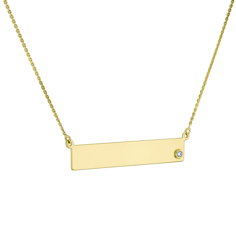 Kobelli Diamond and Gold Necklace