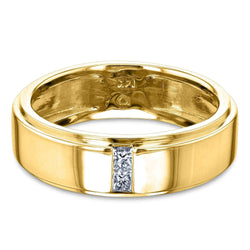 Kobelli Princess Diamond His or Her 6mm Band 62744D/4Y