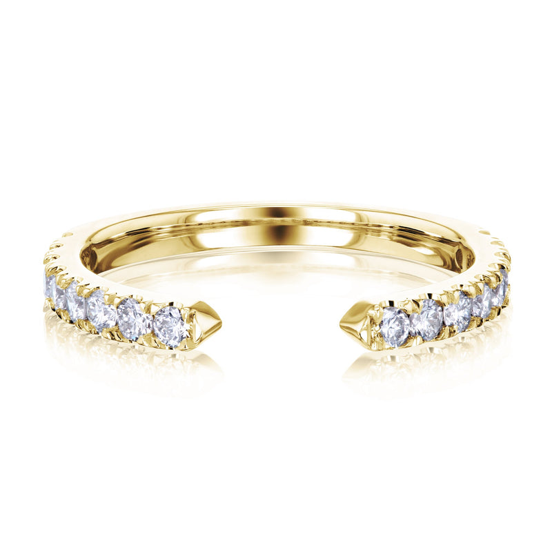 Kobelli Open C Diamond Ring