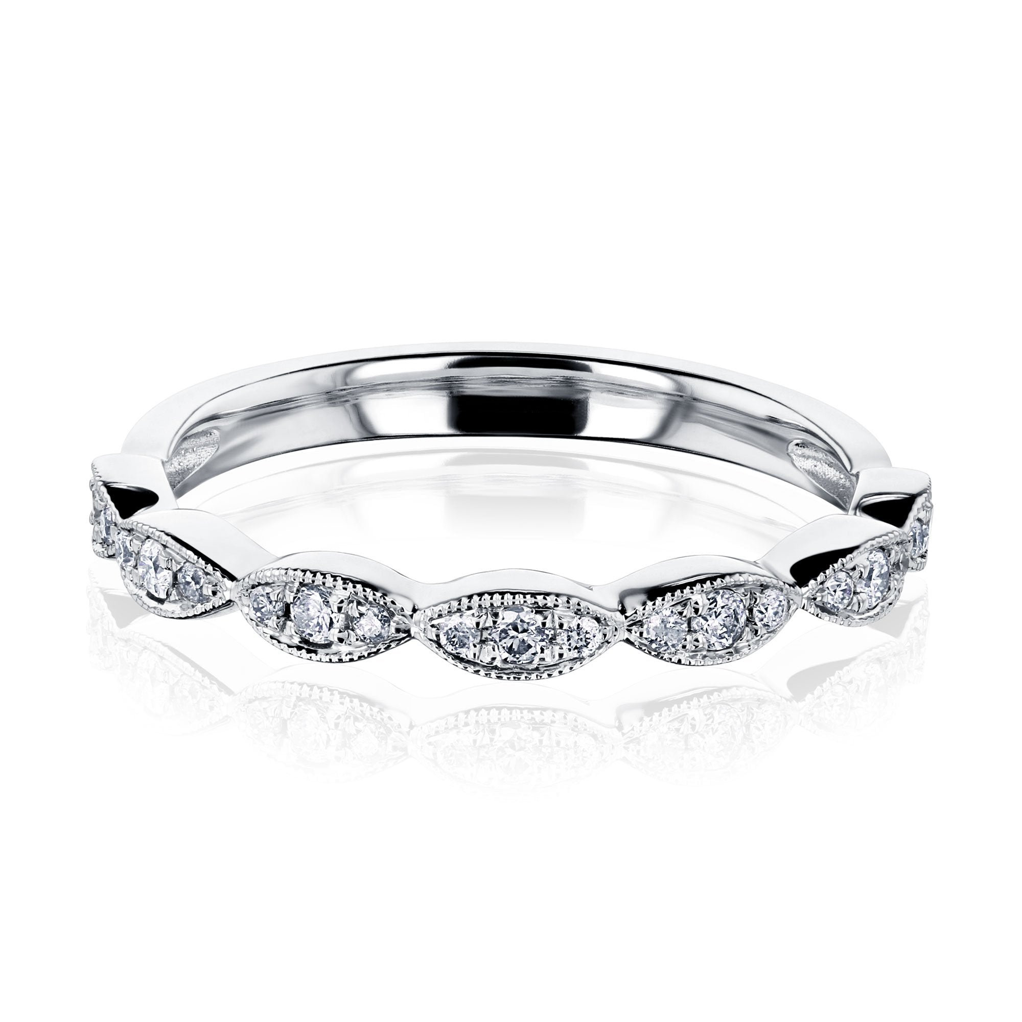 Cheap The Floral Spring Band - white-gold 7.0