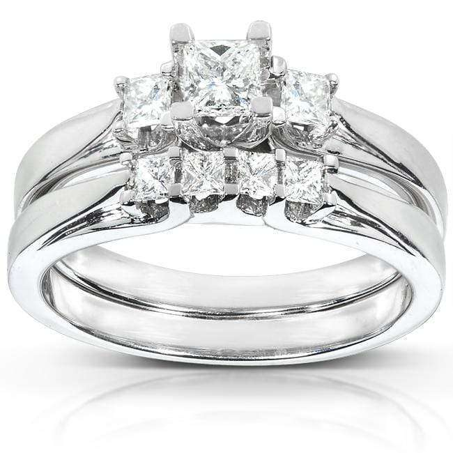 Kobelli Diamond Wedding Set 1/2 carat (ctw) in 14K White or Yellow Gold