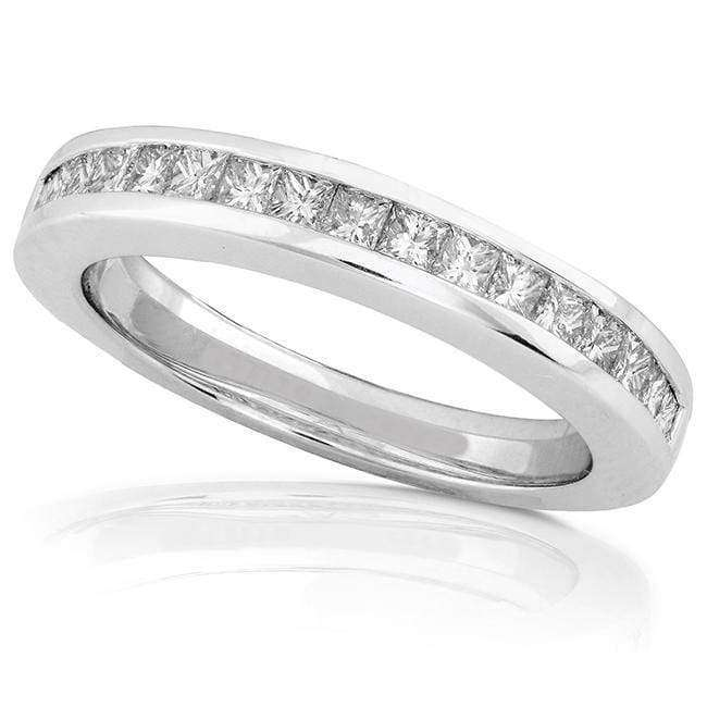 Kobelli Diamond Band 1/2 carat (ctw) in 14k White Gold