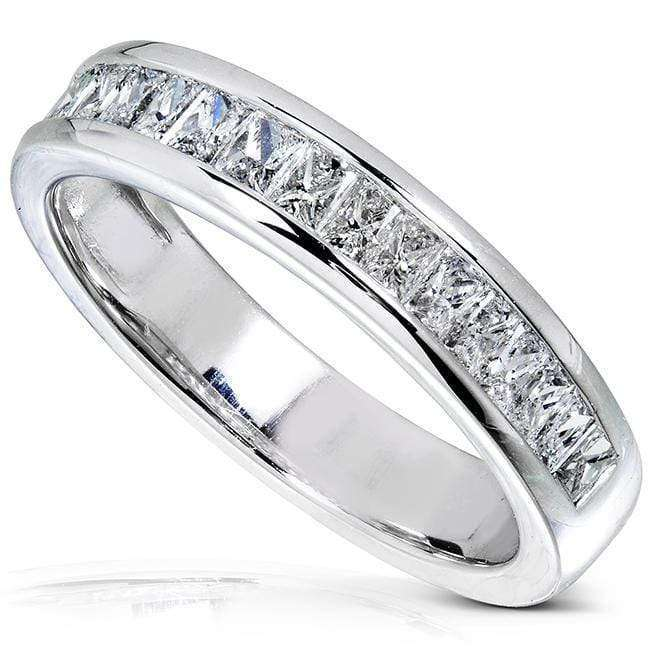 Kobelli Princess Baguette Diamond Wedding Band 3/4 carat (ctw) in 14K Gold