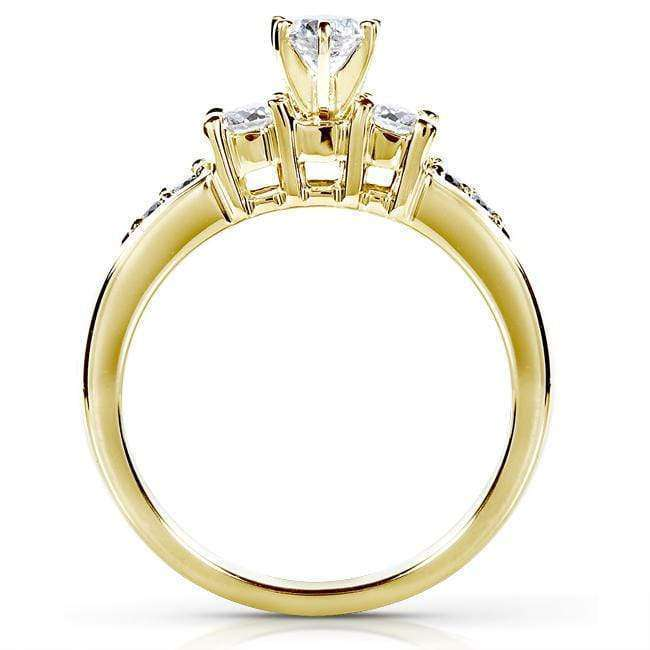 Kobelli Diamond Wedding Set 1 carat (ctw) in 14K Yellow Gold