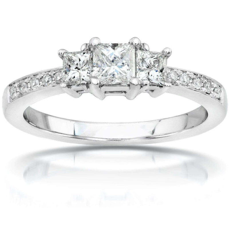 Kobelli Diamond Engagement Ring 1/2 carat (ctw) in 14K Gold 6769-50PV_4.5