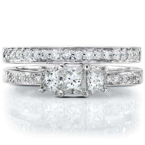 Kobelli Diamond Wedding Set 5/8 carat (ctw) in 14K Gold
