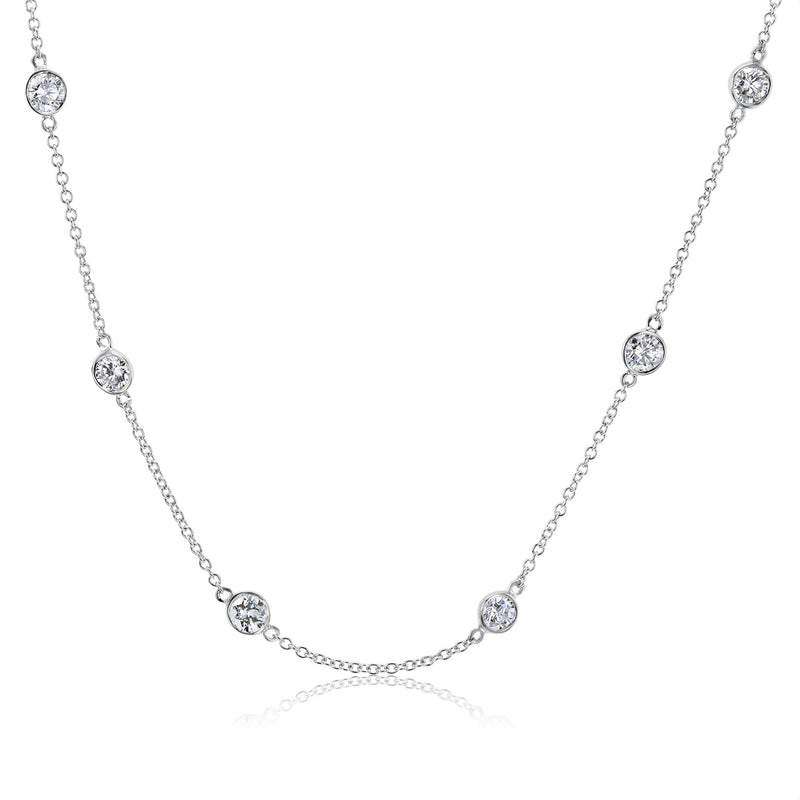 Kobelli Bezel Diamonds by the Yard Choker Necklace