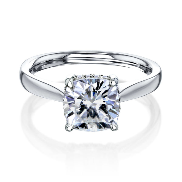 Kobelli Aubree Moissanite Engagement Ring