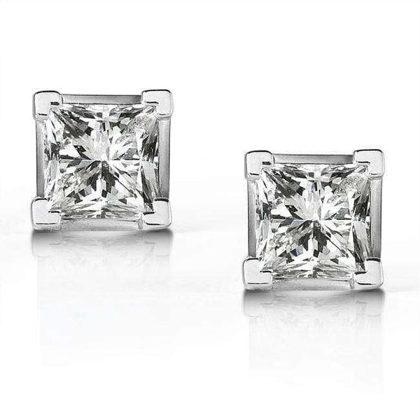 Kobelli Diamond Stud Earrings 1/2 Carat (ctw) in 14K White or Yellow Gold (G-H, VS1-VS2)