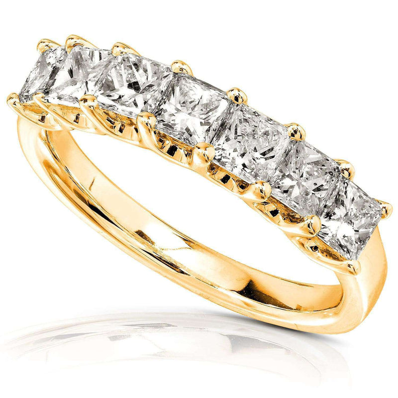 Kobelli Diamond Wedding Band 1 carat (ctw) in 14K Gold 7352PRI/4.5YG