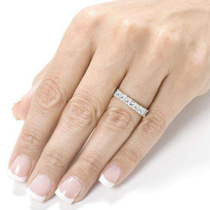 Diamond Wedding Band 1 carat (ctw) in 14K Gold