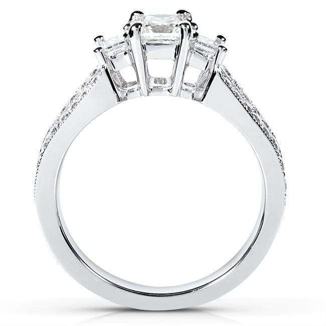 Kobelli Diamond Wedding Set 1 carat (ctw) in 14K White Gold