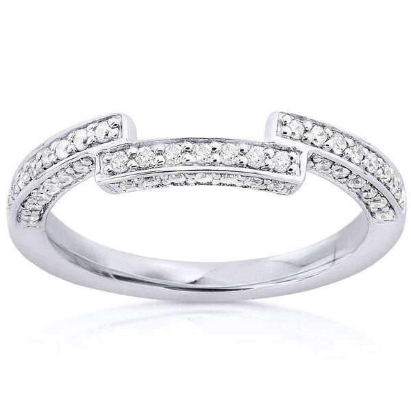 Kobelli Diamond Wedding Band 1/4 carat (ctw) in 14K Gold 9974BANDDM_4.5