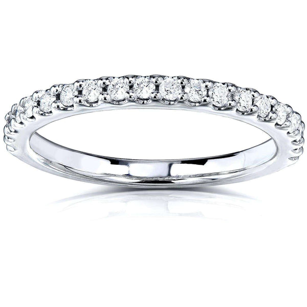 Kobelli Lab Grown Diamond Semi-Eternity Band 1/4 CTW 14k Gold (DEF/VS) LG9975-HF/4.5W