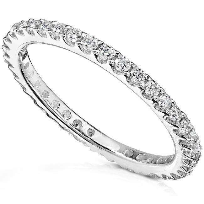 Kobelli Diamond Eternity Band 1/2 carat (ctw) in 14K White Gold