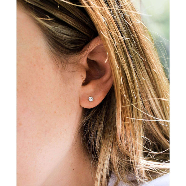 Kobelli Round Lab Grown Diamond Studs, IGI Certified LG62600R-33-VS/Y