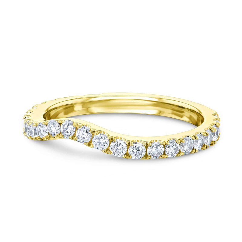 Kobelli Lab Grown Diamond Gold Band - 62714 Series