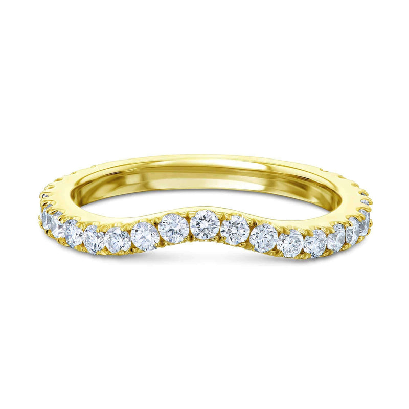 Kobelli Lab Grown Diamond Gold Band - 62714 Series LG62714D/4Y