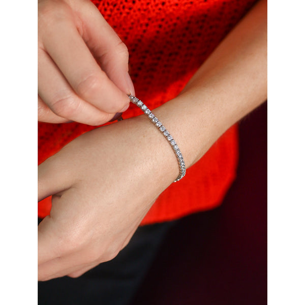 6 CTW Diamond Tennis Bracelet