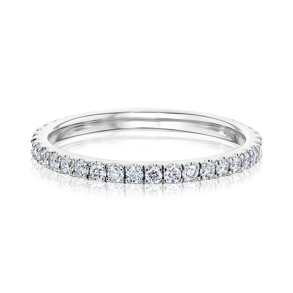 Kobelli Slim Pave Diamond Band