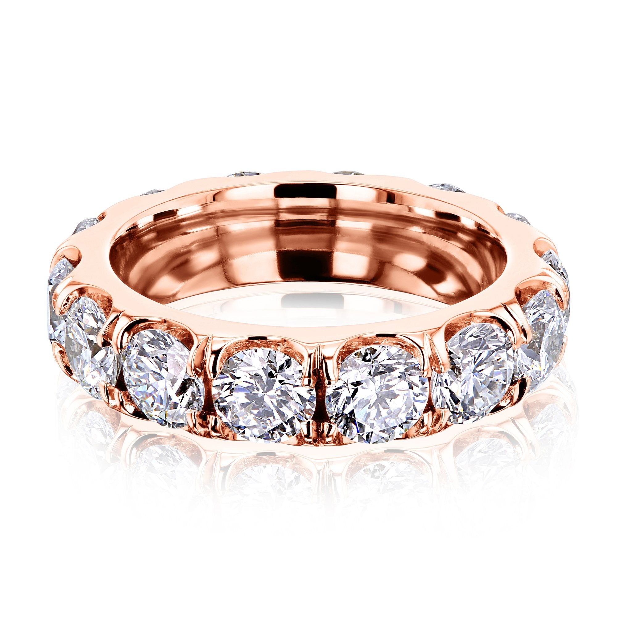 Top Wide Eternity Band - 5.5 rose-gold