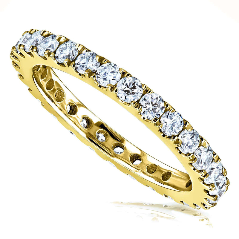 Kobelli 1ct Lab Grown Diamond Eternity Gold Band LG9208/4.5Y