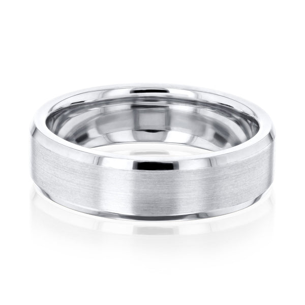 Kobelli Beveled Mens Ring