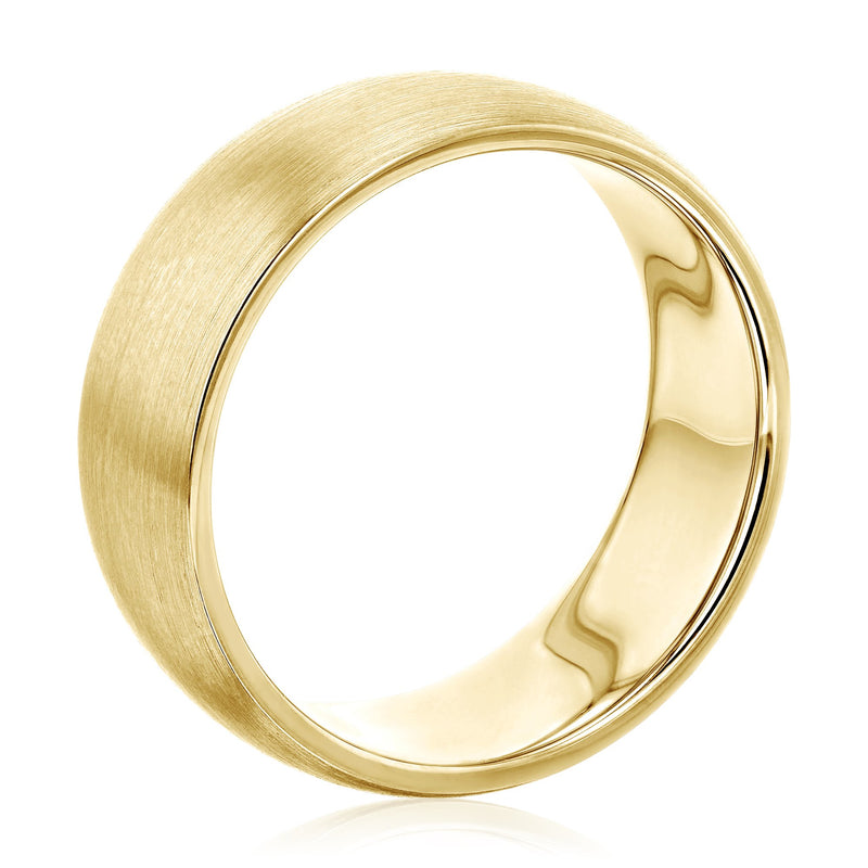 Kobelli Mens Gold Band
