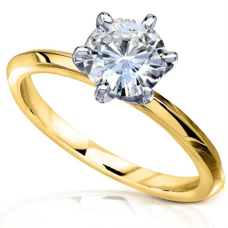 Kobelli 6-Prong Solitaire Classic Engagement Ring