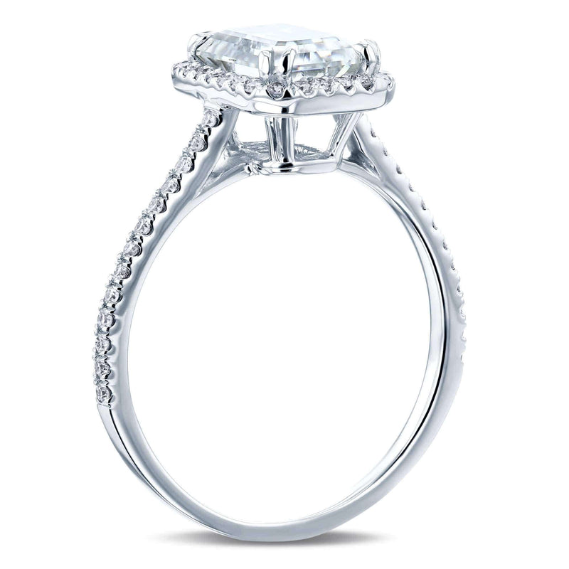 Kobelli 1.8ct Radiant Moissanite Ring