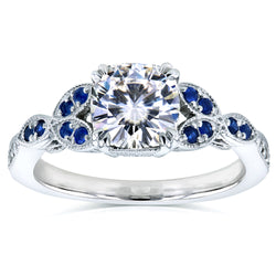 Kobelli Antique Vintage Floral Engagement Rings