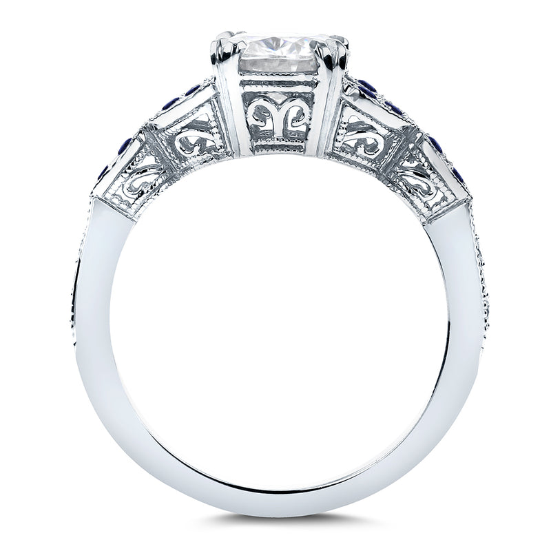 Kobelli Filigree Engagement Ring