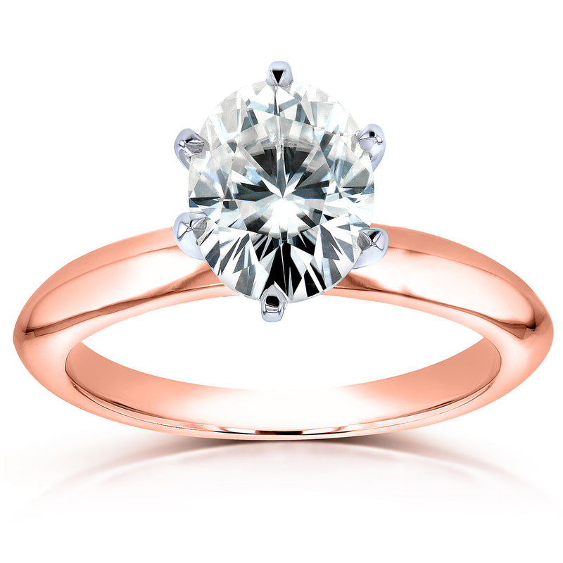 Kobelli 1-1/2ct Oval 6-Prong Solitaire