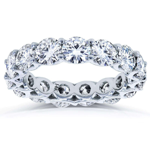 Kobelli 4.5mm Moissanite Eternity Ring MZ62401D1-W/4.5