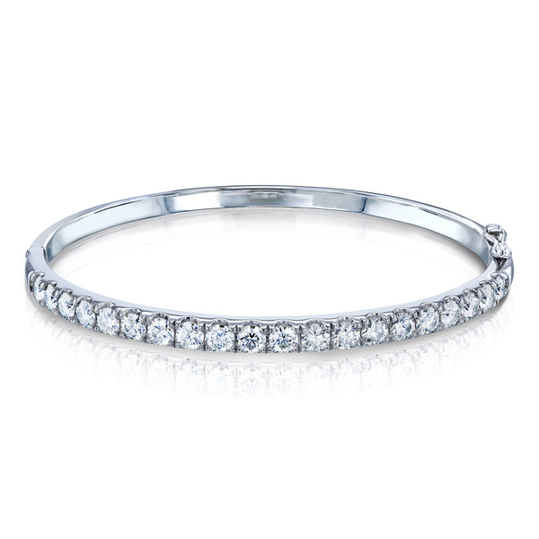 3.20ct.tw Moissanite Bangle